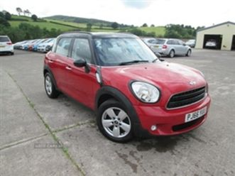 used 2016 mini countryman d hatchback 57,775 miles in red for sale | carsite