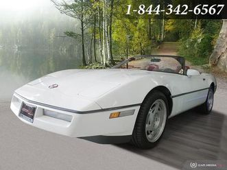 used-1990-chevrolet-corvette-convertible-manual-transmission-white-on-red