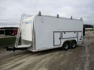2022 cargo express steel 8.5 wide cxt stable edition trailer!   cargo & utility trailers  