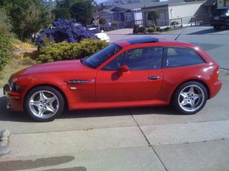 1999 bmw z3m m-coupe, square-back