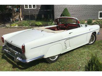 1961 renault caravelle beautiful convertible rear engine   classic cars   moncton   kijiji