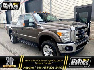 2016 ford f-250 xlt / $124 sem. / 4x4 / v8 / safety certified!!!   cars & trucks   west is