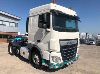 xf106 460 *euro 6* 6x2 tractor unit 2016 px66 twd
