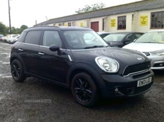 used 2013 mini countryman 2.0 cooper sd hatchback 120,000 miles in black for sale   carsit