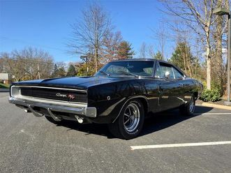 for sale: 1968 dodge charger r/t in silver spring, maryland