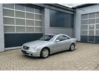 mercedes-benz cl 600 coupe v12