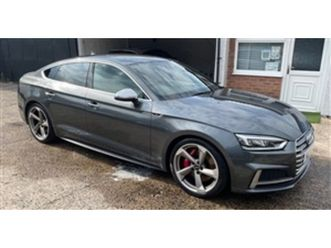 used 2017 audi a5 s5 sportback tfsi quattro hatchback 34,000 miles in grey for sale   cars