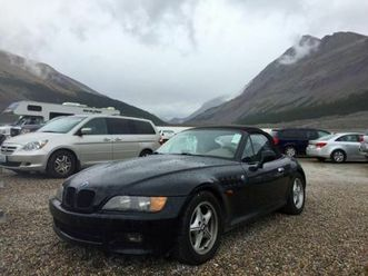 bmw-z3-black-coupe-convertible-cars-trucks-edmonton-kijiji