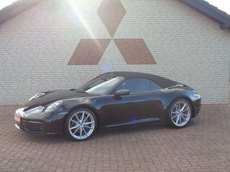 porsche 911/992 carrera cabrio*pdk*leder*wlan*mwst*20/21