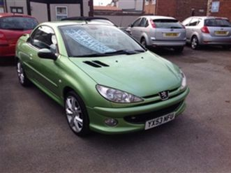 used-2003-peugeot-206-206-cc-convertible-80-000-miles-in-green-for-sale-carsite