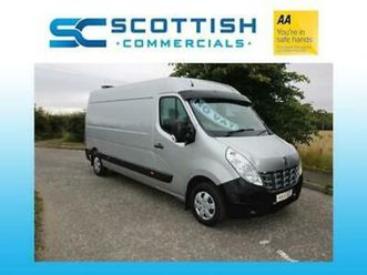 2014 renault master lwb silver superb condition *low miles* years mot sprinter