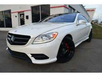 2014-mercedes-benz-cl-class-cl550-4matic-awd-navi-pearl-white-coupe