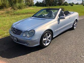 2004 mercedes-benz clk 3.2 clk320 avantgarde cabriolet - £2,999