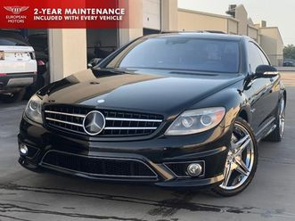 black-color-2009-mercedes-benz-cl-class-amg-cl-63-for-sale-in-plano-tx-75093-vin-is-wdde