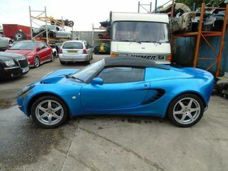 2001 lotus elise elise 2dr convertible petrol manual
