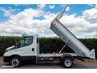 iveco daily 35c18h 3.0 3450 180 ch benne jpm