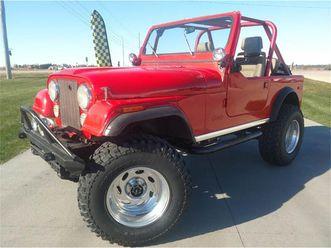 for sale: 1980 jeep cj7 in west okoboji, iowa https://photos.classiccars.com/cc-temp/listing/132/7388/19531097-1980-jeep-cj7-std.jpg --