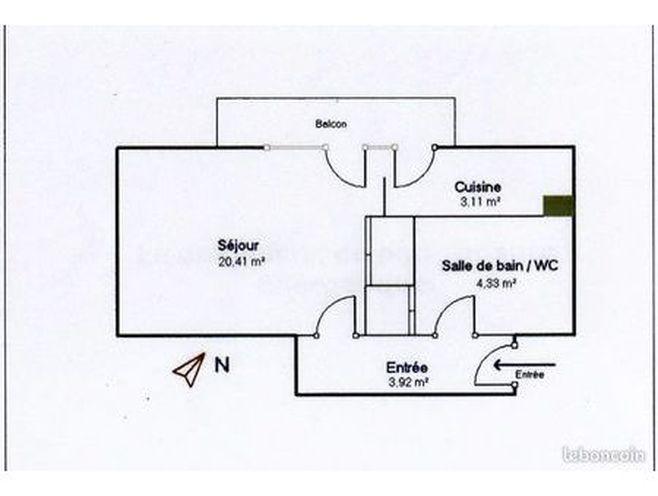 appartement t1 bis - résidence l'orée du parc