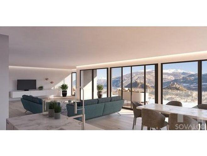 en exclusivité ! la corniche  2 luxueux lofts à bâtir à gravelone/sion  sion | acheter lof
